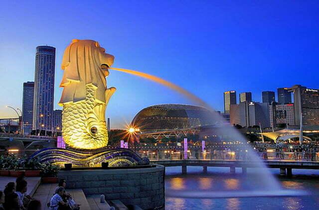 ที่เที่ยวสุดฟินที่ประเทศสิงคโปร์